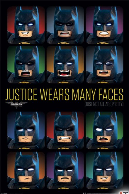 LEGO® Batman Justice Wears Many Faces  61x91,5cm Movie Posters